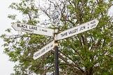 BCN 24h Marathon Challenge 2015: BCNS signpost at Ryders Green Junction. Birmingham Canal Navigations,    on 23 May 2015 at 13:19, image #111
