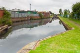 "BCN 24h Marathon Challenge 2015: ""Felonious Mongoose"" leaving Ryders Green top lock. Birmingham Canal Navigations,    on 23 May 2015 at 13:42, image #113"