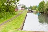 BCN 24h Marathon Challenge 2015: Ryders Green Locks on the Walsall Canal, seen from the top lock. Birmingham Canal Navigations,    on 23 May 2015 at 13:45, image #114