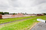 BCN 24h Marathon Challenge 2015: In 2014 a derelict factory stood at this, now cleared, site at Ryders Green lock No 4. Birmingham Canal Navigations,    on 23 May 2015 at 13:47, image #116