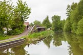BCN 24h Marathon Challenge 2015: Factory bridge on  the Walsall Canal, between Tame Valley Junction and Leabrook Bridge. Birmingham Canal Navigations,    on 23 May 2015 at 15:23, image #119