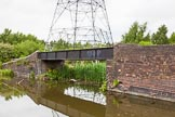 BCN 24h Marathon Challenge 2015: Factory bridge to the former Leabrook Railway Basins on  the Walsall Canal. Birmingham Canal Navigations,    on 23 May 2015 at 15:33, image #123