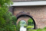 BCN 24h Marathon Challenge 2015: Holyhead Road Bridge, followed by the Darlastan Road Bridge, on the Walsall Canal. The two bridges carry the Moxley Junction Roundabout. Birmingham Canal Navigations,    on 23 May 2015 at 15:51, image #128