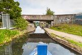 BCN 24h Marathon Challenge 2015: A concrete bridge between two industrial sites that both have disappeared, on the Walsall Canal near the M6. Birmingham Canal Navigations,    on 23 May 2015 at 17:03, image #139