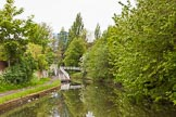 BCN 24h Marathon Challenge 2015: Modern footbridge on the Wyrley & Essington Canal near Church Bridge. Birmingham Canal Navigations,    on 24 May 2015 at 07:41, image #151
