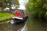 "BCN 24h Marathon Challenge 2015: Meeting FMC narrowboat ""Jane"" (?) near Rookery Bridge on the Wyrley & Essington Canal. Birmingham Canal Navigations,    on 24 May 2015 at 07:48, image #153"