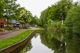 BCN 24h Marathon Challenge 2015: Approaching Wednesfield Junction on the Wyrley & Essington Canal. Birmingham Canal Navigations,    on 24 May 2015 at 07:52, image #155