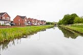 BCN 24h Marathon Challenge 2015: New Cross Grange, Wyrley & Essington Canal. Modern houses on the left have replaced a Bowmans Harbour Colliery. Birmingham Canal Navigations,    on 24 May 2015 at 07:59, image #158