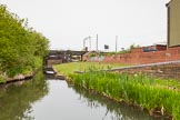 BCN 24h Marathon Challenge 2015: Horseley Fields Stop on the Wyrley & Essington Canal next to Horseley Fields Junction. There used to be a toll house next to the stop lock.. Birmingham Canal Navigations,    on 24 May 2015 at 08:16, image #166