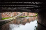 BCN 24h Marathon Challenge 2015: Factory bridge that once served iron works, at Horseley Fields Bridge on teh BCN Main Line. Birmingham Canal Navigations,    on 24 May 2015 at 08:18, image #171