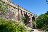 : The magnificient Marple Aqueduct, carrying the Lower Peak Forest Canal over the River Goyt, was built between 1795 and 1799.     on 03 July 2015 at 14:15, image #24