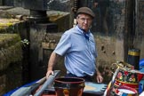 : Canal & River Trust chairman Richard Parry at the helm of historic narrowboat Maria.     on 03 July 2015 at 15:41, image #43