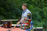: Canal & River Trust chairman Richard Parry at the helm of historic narrowboat Maria.     on 03 July 2015 at 15:43, image #46