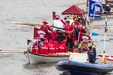 Thames Diamond Jubilee Pageant: SHALLOPS-Jubilant (M5).. River Thames seen from Battersea Bridge, London,  United Kingdom, on 03 June 2012 at 14:40, image #78