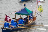 Thames Diamond Jubilee Pageant: WATERMAN'S CUTTERS-Cito (M19).. River Thames seen from Battersea Bridge, London,  United Kingdom, on 03 June 2012 at 14:41, image #89