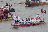 Thames Diamond Jubilee Pageant: DRAGON BOATS-Guangzhou (M185).. River Thames seen from Battersea Bridge, London,  United Kingdom, on 03 June 2012 at 14:48, image #125