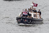 Thames Diamond Jubilee Pageant: VIPS-Trinity House No.1.Boast (V61).. River Thames seen from Battersea Bridge, London,  United Kingdom, on 03 June 2012 at 14:55, image #159