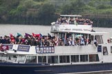 Thames Diamond Jubilee Pageant: VIPS-William B (V85).. River Thames seen from Battersea Bridge, London,  United Kingdom, on 03 June 2012 at 15:04, image #209