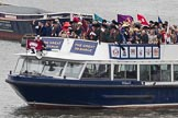 Thames Diamond Jubilee Pageant: VIPS-William B (V85).. River Thames seen from Battersea Bridge, London,  United Kingdom, on 03 June 2012 at 15:04, image #211