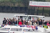 Thames Diamond Jubilee Pageant: VIPS-Sarpedon (H87).. River Thames seen from Battersea Bridge, London,  United Kingdom, on 03 June 2012 at 15:05, image #218