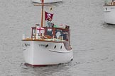Thames Diamond Jubilee Pageant: DUNKIRK LITTLE SHIPS-L'Orage (H35).. River Thames seen from Battersea Bridge, London,  United Kingdom, on 03 June 2012 at 15:16, image #305