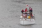 Thames Diamond Jubilee Pageant: DUNKIRK LITTLE SHIPS-Papillon (H42).. River Thames seen from Battersea Bridge, London,  United Kingdom, on 03 June 2012 at 15:16, image #310