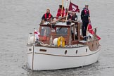 Thames Diamond Jubilee Pageant: DUNKIRK LITTLE SHIPS-Papillon (H42).. River Thames seen from Battersea Bridge, London,  United Kingdom, on 03 June 2012 at 15:17, image #315