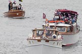 Thames Diamond Jubilee Pageant: MOTOR CRUISES/YACHTS- Lucy Ann (H89).. River Thames seen from Battersea Bridge, London,  United Kingdom, on 03 June 2012 at 15:26, image #356