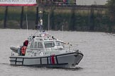 Thames Diamond Jubilee Pageant: PLA, MCA & EA VESSELS-MCA Hunter (W92).. River Thames seen from Battersea Bridge, London,  United Kingdom, on 03 June 2012 at 16:05, image #515