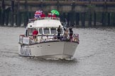 Thames Diamond Jubilee Pageant: PASSENGER BOATS- Rum Jungle (Nottinghamshire) (C11).. River Thames seen from Battersea Bridge, London,  United Kingdom, on 03 June 2012 at 16:10, image #541
