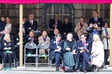 The Lord Mayor's Show 2011: Guests under the balcony of Mansion House.. Opposite Mansion House, City of London, London, -, United Kingdom, on 12 November 2011 at 10:49, image #17