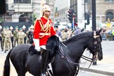 The Lord Mayor's Show 2011: The Director of Music, The Life Guards, Household Cavalry Mounted Regiment Band & Division.. Opposite Mansion House, City of London, London, -, United Kingdom, on 12 November 2011 at 10:49, image #20