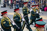 The Lord Mayor's Show 2011: Romford Drum & Trumpet Corps (http://www.rdtc.org/), one of the oldest youth-marching bands in the country.. Opposite Mansion House, City of London, London, -, United Kingdom, on 12 November 2011 at 11:08, image #123