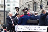 The Lord Mayor's Show 2011: Trafalgar 200 Past Masters' Association.. Opposite Mansion House, City of London, London, -, United Kingdom, on 12 November 2011 at 11:09, image #125