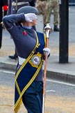 The Lord Mayor's Show 2011: The Band of 176 (Hove) Squadron Air Training Corps, here the Drum Major.. Opposite Mansion House, City of London, London, -, United Kingdom, on 12 November 2011 at 11:17, image #199