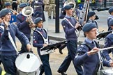 The Lord Mayor's Show 2011: The Air Traing Corps Band.. Opposite Mansion House, City of London, London, -, United Kingdom, on 12 November 2011 at 11:17, image #201