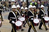 The Lord Mayor's Show 2011: Royal British Legion Band & Corps Of Drums Romford (http://www.royalbritishlegionbandromford.co.uk/).. Opposite Mansion House, City of London, London, -, United Kingdom, on 12 November 2011 at 11:43, image #441