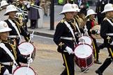 The Lord Mayor's Show 2011: Royal British Legion Band & Corps Of Drums Romford (http://www.royalbritishlegionbandromford.co.uk/).. Opposite Mansion House, City of London, London, -, United Kingdom, on 12 November 2011 at 11:43, image #442