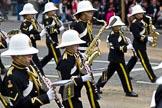 The Lord Mayor's Show 2011: Royal British Legion Band & Corps Of Drums Romford (http://www.royalbritishlegionbandromford.co.uk/).. Opposite Mansion House, City of London, London, -, United Kingdom, on 12 November 2011 at 11:43, image #444