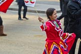 The Lord Mayor's Show 2011: Mexican Chamber of Commerce.. Opposite Mansion House, City of London, London, -, United Kingdom, on 12 November 2011 at 11:46, image #485
