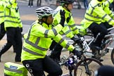 The Lord Mayor's Show 2011: Community Policing Cycle Team (http://www.cityoflondon.police.uk/).. Opposite Mansion House, City of London, London, -, United Kingdom, on 12 November 2011 at 12:07, image #666