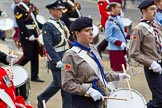The Lord Mayor's Show 2011: Corps of Drums Society (http://www.corpsofdrums.com/).. Opposite Mansion House, City of London, London, -, United Kingdom, on 12 November 2011 at 12:07, image #670