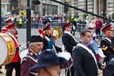 The Lord Mayor's Show 2011: Corps of Drums Society (http://www.corpsofdrums.com/).. Opposite Mansion House, City of London, London, -, United Kingdom, on 12 November 2011 at 12:07, image #672