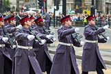 The Lord Mayor's Show 2011: The Honourable Artillery Company (HAC, http://www.hac.org.uk/).. Opposite Mansion House, City of London, London, -, United Kingdom, on 12 November 2011 at 12:13, image #739