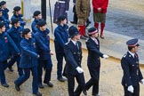 Lord Mayor's Show 2012: Entry 2 - City of London Police, with Volunteer Police Cadets.. Press stand opposite Mansion House, City of London, London, Greater London, United Kingdom, on 10 November 2012 at 10:59, image #180