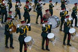 Lord Mayor's Show 2012: Romford Drum & Trumpet Corps.. Press stand opposite Mansion House, City of London, London, Greater London, United Kingdom, on 10 November 2012 at 11:03, image #224