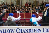 Lord Mayor's Show 2012: Worshipful Company of Tallow Chandlers.. Press stand opposite Mansion House, City of London, London, Greater London, United Kingdom, on 10 November 2012 at 11:04, image #254