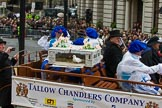 Lord Mayor's Show 2012: Worshipful Company of Tallow Chandlers.. Press stand opposite Mansion House, City of London, London, Greater London, United Kingdom, on 10 November 2012 at 11:04, image #260