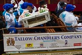 Lord Mayor's Show 2012: Worshipful Company of Tallow Chandlers.. Press stand opposite Mansion House, City of London, London, Greater London, United Kingdom, on 10 November 2012 at 11:04, image #263