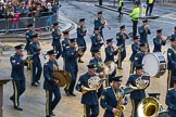 Lord Mayor's Show 2012: Entry 16 - Central Band of the RAF.. Press stand opposite Mansion House, City of London, London, Greater London, United Kingdom, on 10 November 2012 at 11:07, image #326